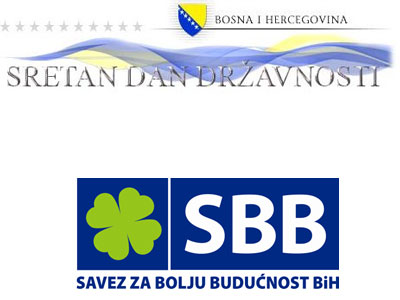 Photo of SBB Visoko: Čestitka za Dan državnosti BiH