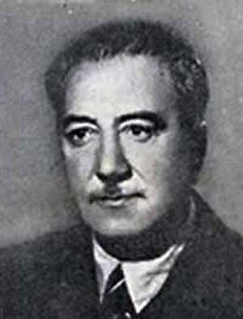 Photo of Isak Samokovlija – 15.01.1955.