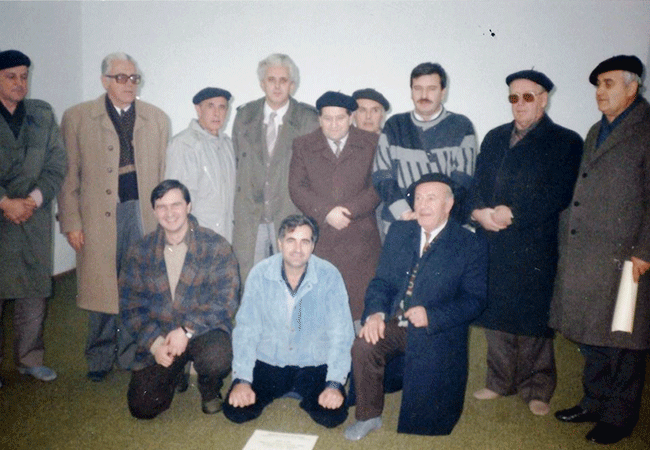 "Photo of 06.12.1990. – Obnoviteljska skupština KDM ""Preporod"" Visoko"