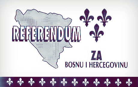 Photo of Referendum o nezavisnosti BiH – 1992.