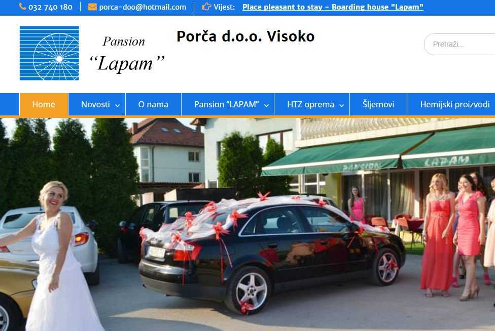 Photo of Porča d.o.o – Web stranica