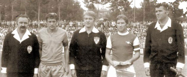 "Photo of FK ""Željezničar"" ugostio londonski Arsenal 15.08.1976."