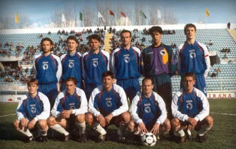 Photo of Prva zvanična utakmica reprezentacije BiH 30.11.1995.