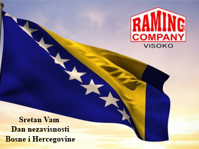 Photo of RAMING COMPANY: Sretan vam Dan nezavisnosti