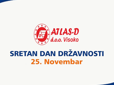 Photo of ATLAS-D: Čestitka za Dan državnosti BiH