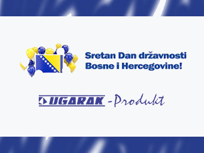 Photo of Ugarak-produkt: Čestitka za Dan državnosti BiH
