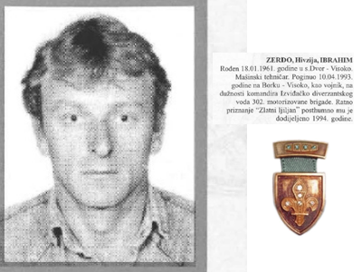 "Photo of ""Zlatni ljiljan"": Zerdo Ibrahim (1961 – 1993)"