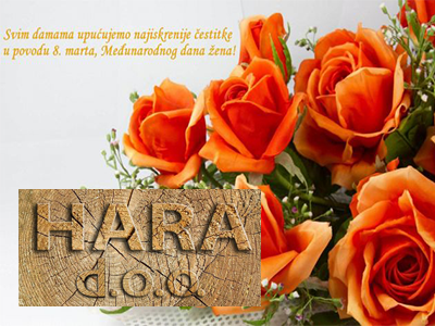 Photo of Hara: Sretan 8. mart
