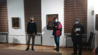 "Photo of Video: Vernissage izložbe Lazar Drljača – XVII ""Dani Zaima Muzaferije"" 2020."