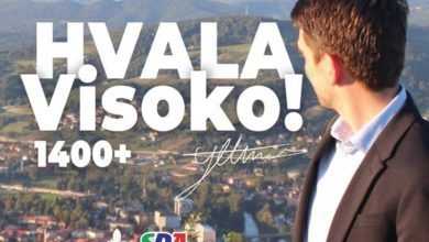 Photo of Almir Ljeskovica: Hvala Visoko!
