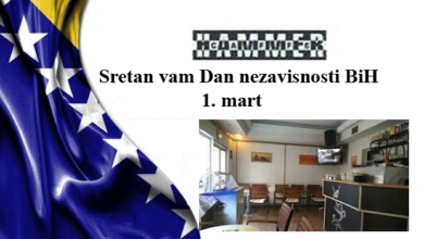 Photo of Caffe HAMER: Sretan vam Dan nezavisnosti